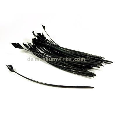 Arrow-head feather black 30 cm (x 5 )
