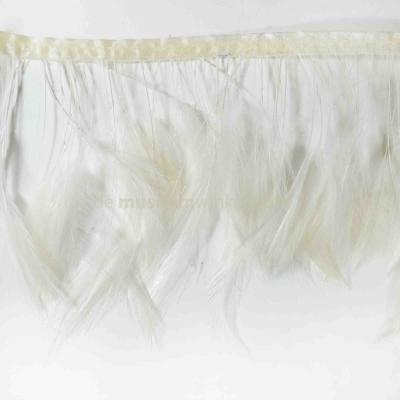 Feather garland Rooster - creme