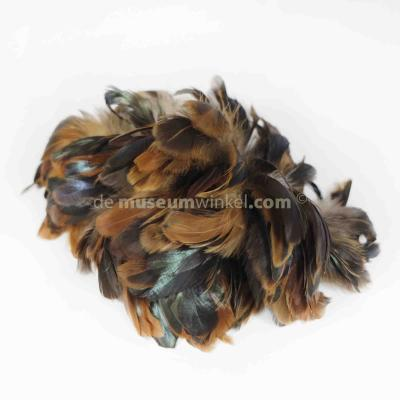 Feather garland Rooster - brown