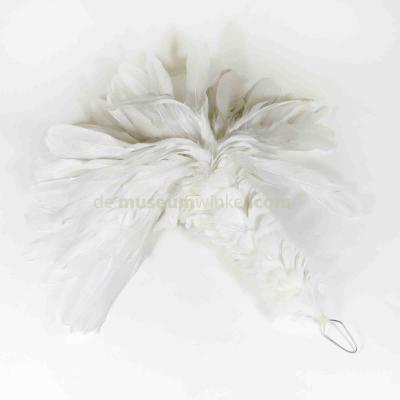 Plume Rooster - white large