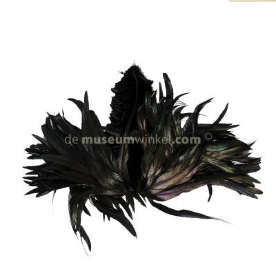 Plume Rooster - black large