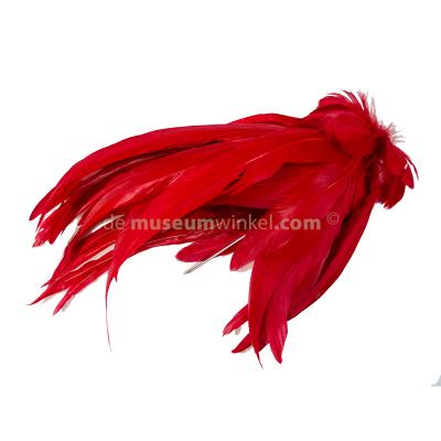 Plume Rooster - red large