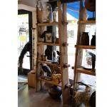 Handgemaakte kast van acaciahout (a)